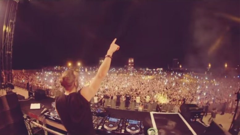 David Guetta party Israel