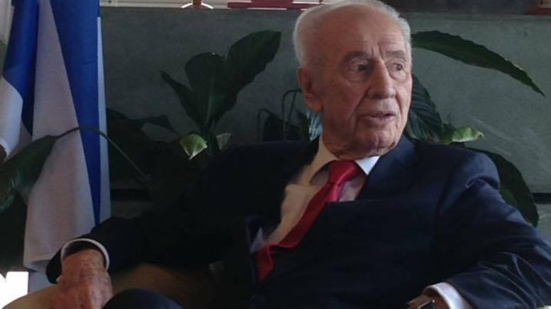 Shimon Peres Shalom NZ