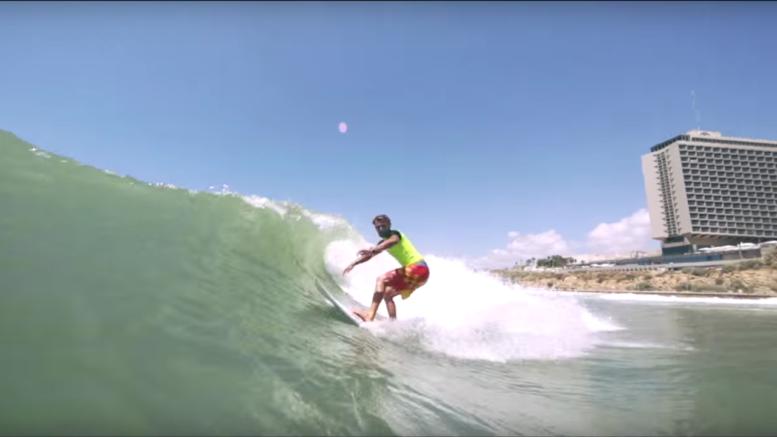 Surfing Israel