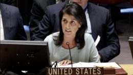 Nikki Haley UN double standards Israel