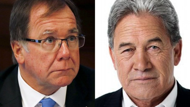 Winston Peters and Murry McCully