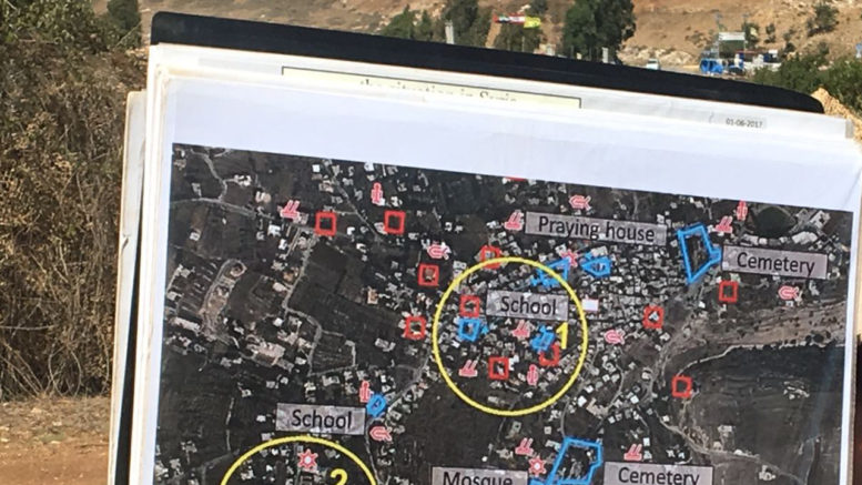 Israel's borders; Hezbollah are hiding weapons under houses and by schools