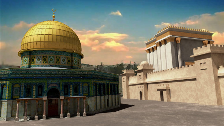 Temple and Dome of the Rock